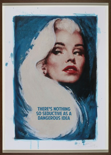 Dangerous Idea by The Connor Brothers - Framed Hand Embellished Limited Edition on Paper